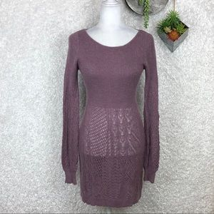 Anthro Knitted & Knotted Alpaca Sweater Dress